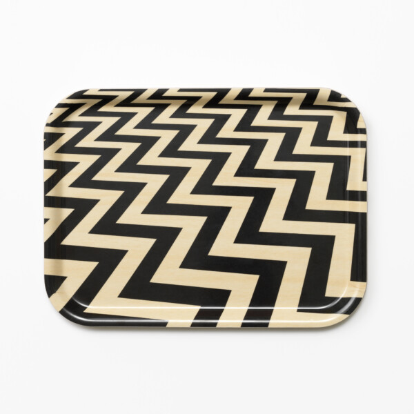 Twin Peaks serving tray