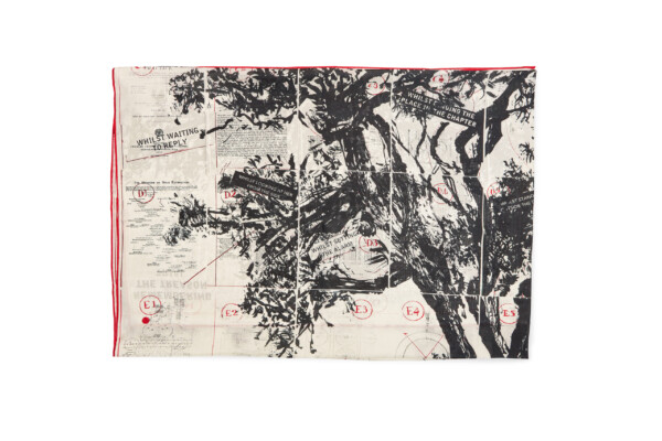 Whitechapel Gallery museum voor moderne en hedendaagse kunst in Londen, William Kentridge Shawl Eye