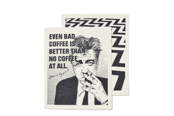 david lynch dishcloth