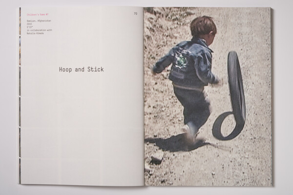 Francis Alÿs - Children's Games - Hoop and Stick