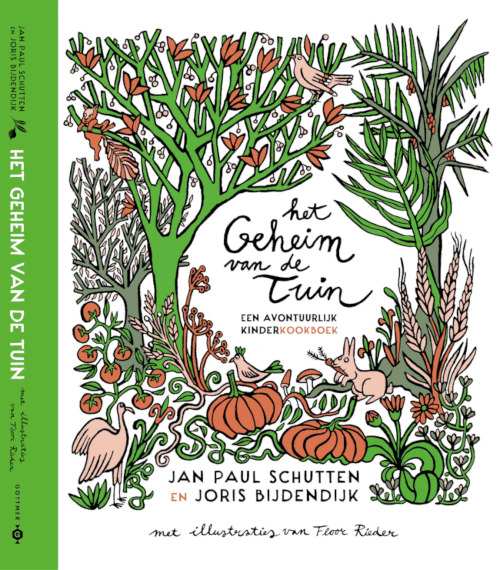 The secret of the garden | An adventurous children's cookbook