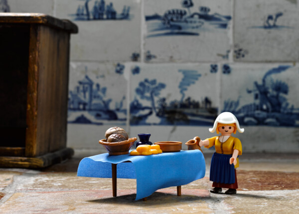 Playmobil I The Milkmaid by Vermeer
