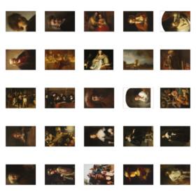 Rembrandt postcards