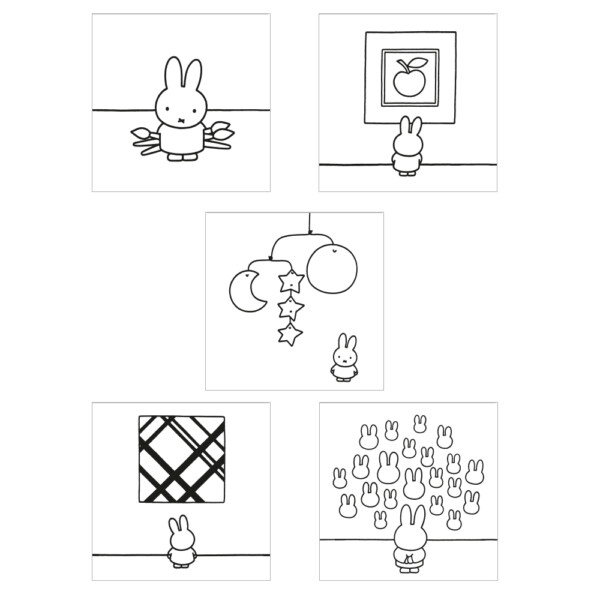 Miffy coloring