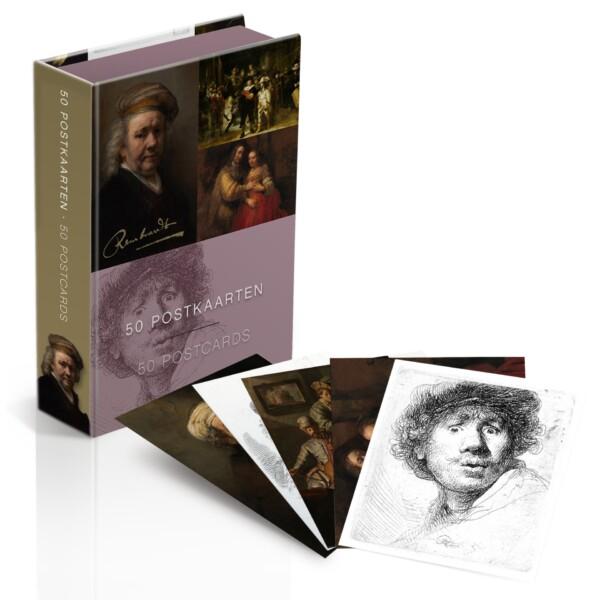Rembrandt Postcard box
