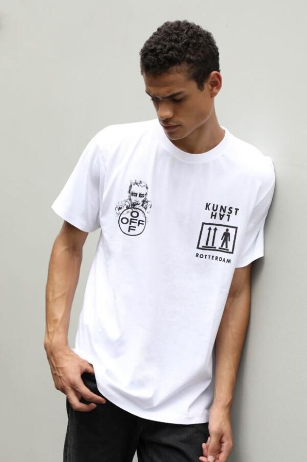 KunsthalxOff-White - T-shirt - White
