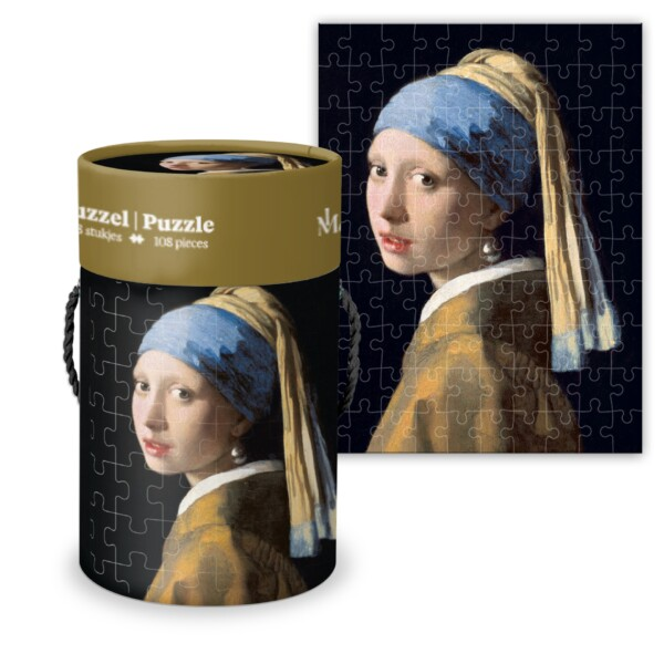 Girl with the Pearl Earring - Vermeer - Puzzle