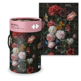 De heem Floral puzzle - Rijksmuseum