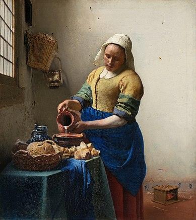 Die Milchmagd von Vermeer