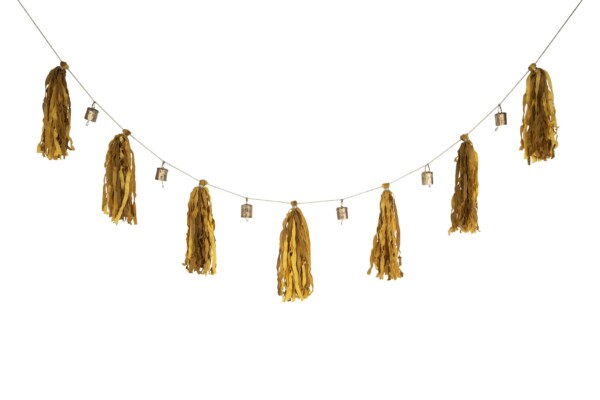 Bohemian garland made in Nepal