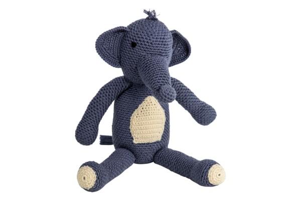 Cuddly elephant - handmade