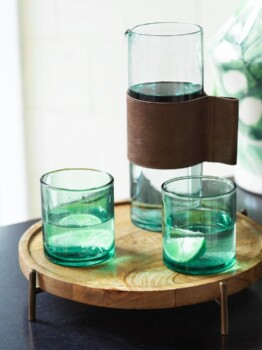 Water jar and glasses - Jouelle Cuppen