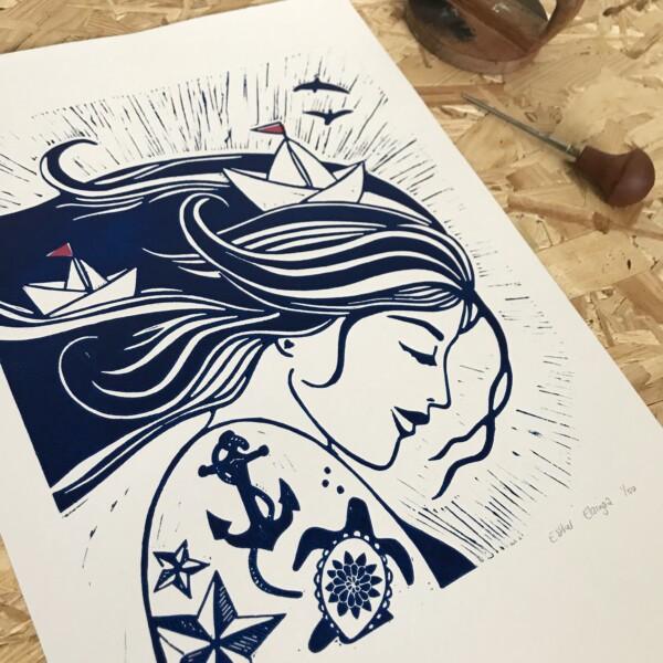 sailor's wife studio tokek