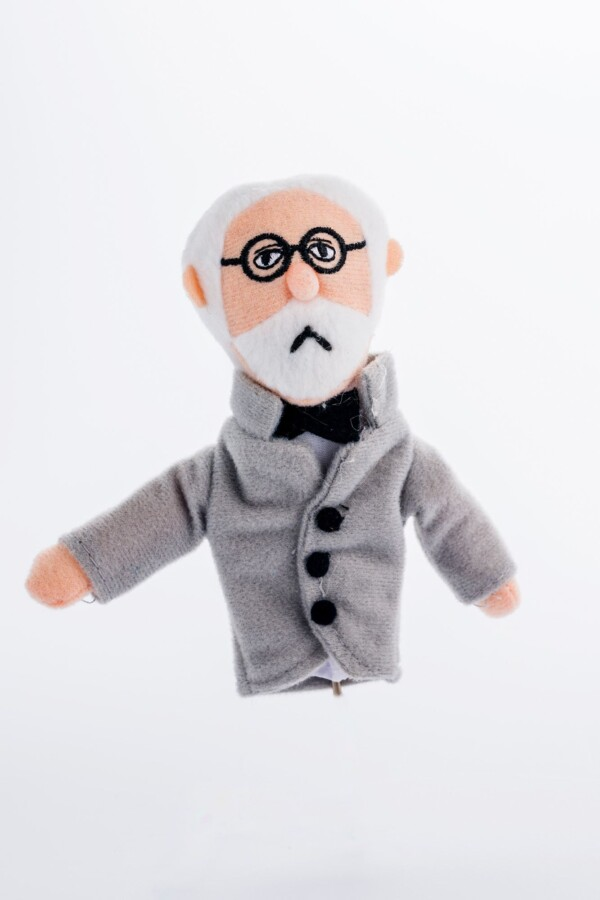 Finger puppet and magnet Freud