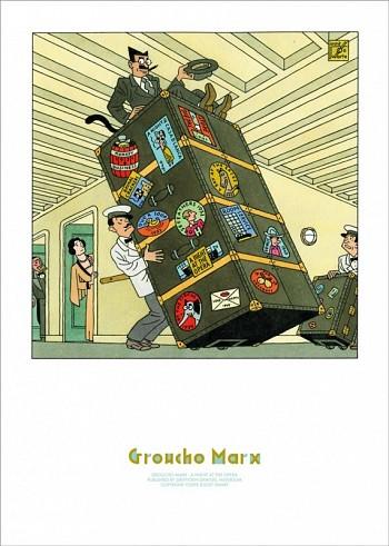 Joost Swarte Groucho Marx