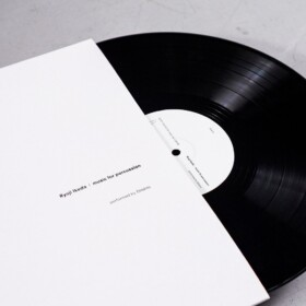 Ryoji Ikeda, Music For Percussion, Vinyl