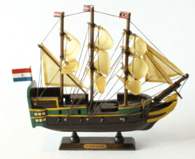 East Indiaman Amsterdam model