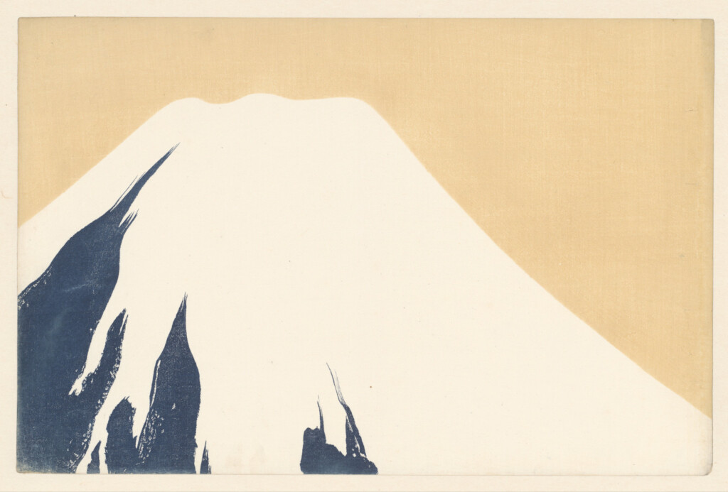 Mount Fuji, Kamisaka Sekka, 1909