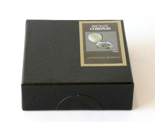 Bronze Compass - inm presentation box