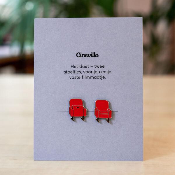 Pins: Cinema chairs