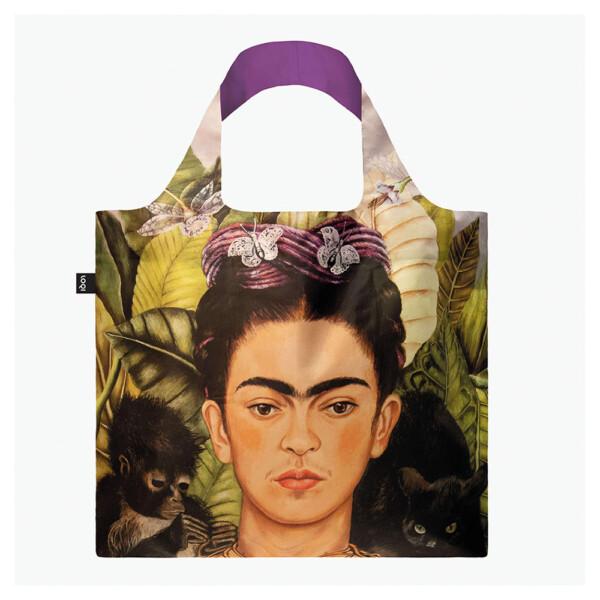 Frida Kahlo - Self Portrait with Humming Bird Bag