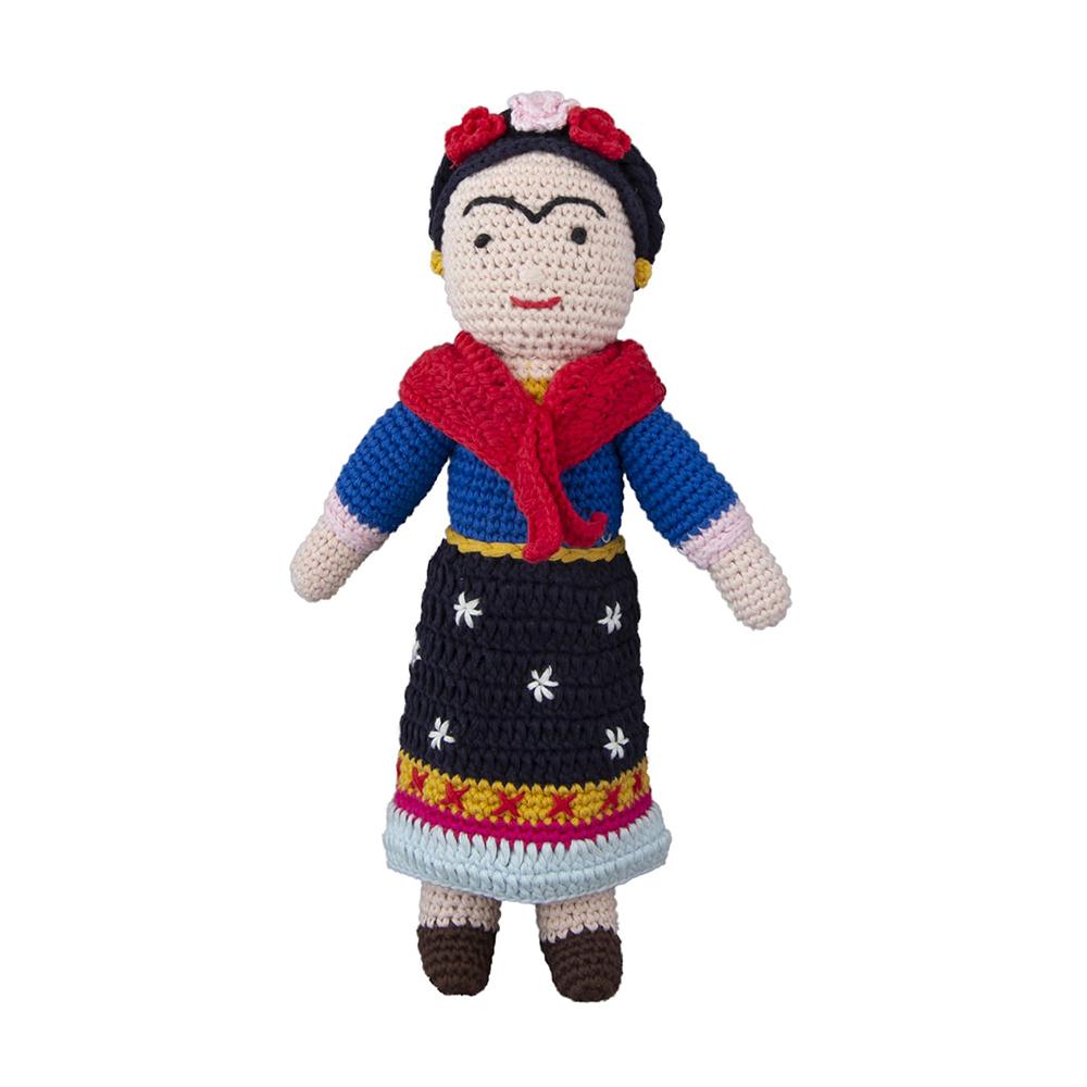 Frida Kahlo häkelte