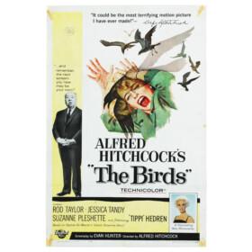 hitchcock vintage movie poster