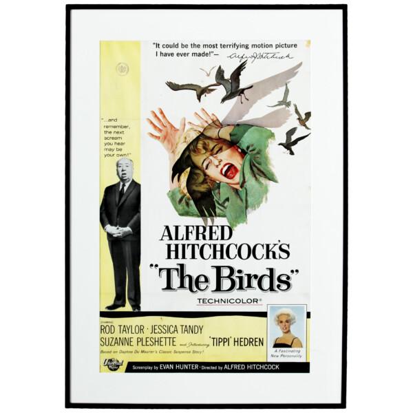 Alfred Hitchcock's: The Birds - Original vintage movie poster