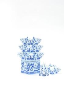 Piet design - detail tulip vase