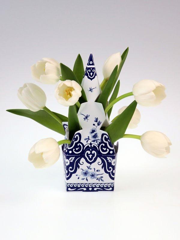 Piet design - Mini Tulip Vase