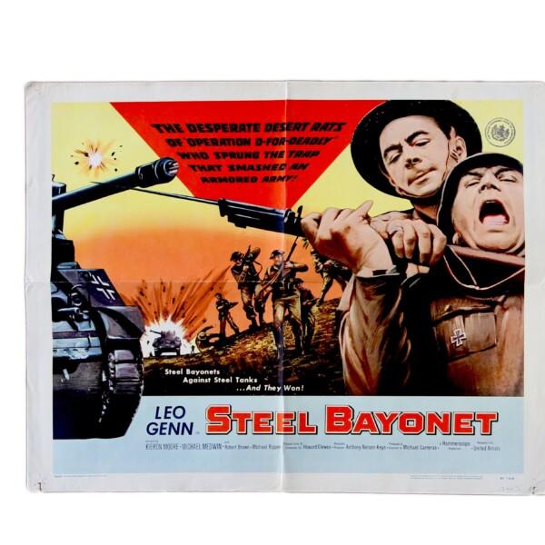 Steel Bayonet - Original vintage movie poster