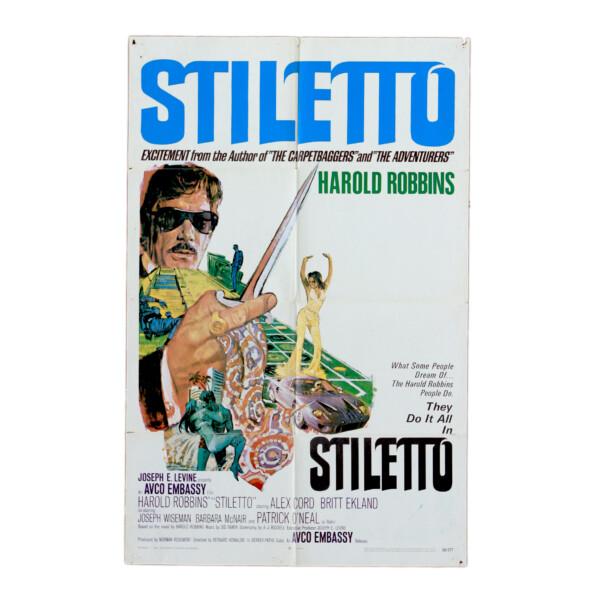 Stiletto - Original vintage movie poster