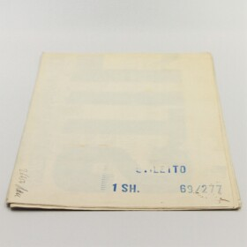 "Vintage movie poster ""Stiletto"" - folded"