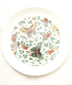Butterfly & Flower plate