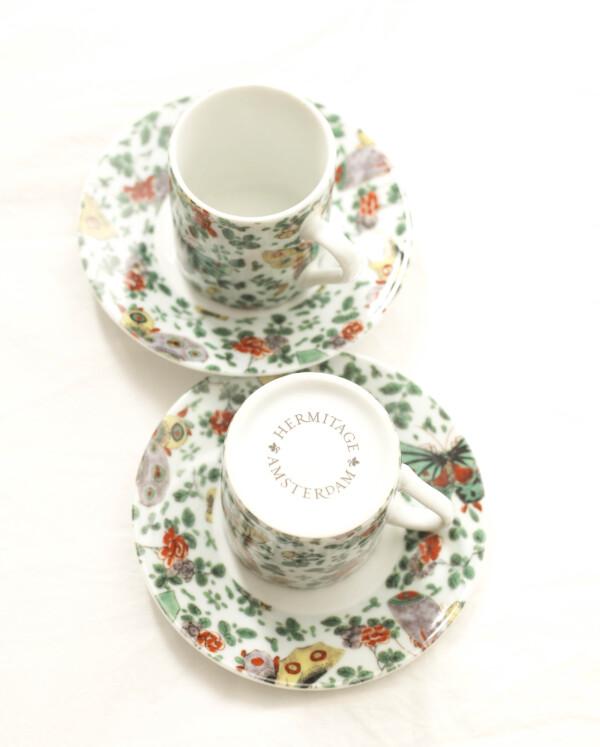 Butterfly & Flower cups