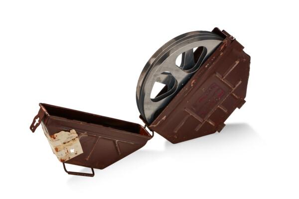 Vintage Moving Picture Film Reel Transport Case