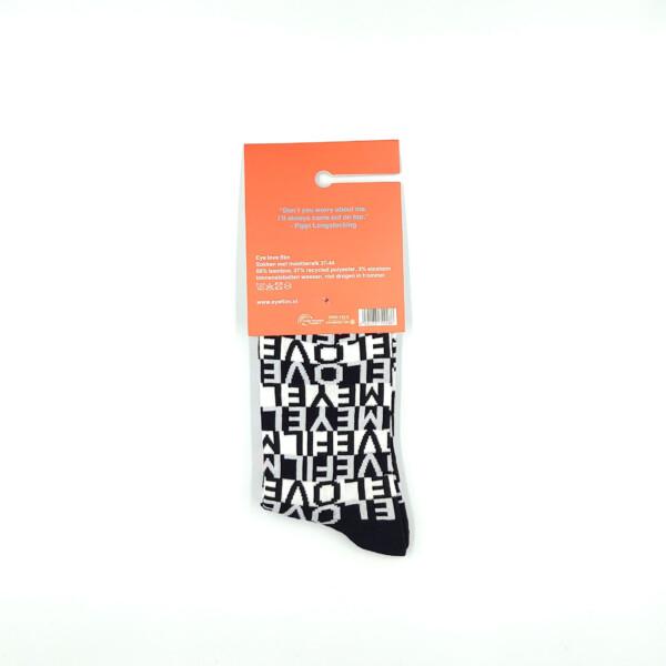 Eye love film socks