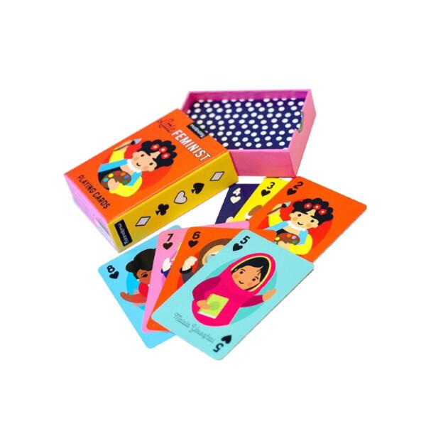 Little Feminist Spielkarten
