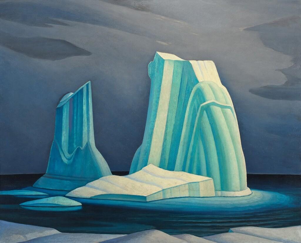 Lawren S. Harris (1885 -1970), Icebergs, Davis Strait